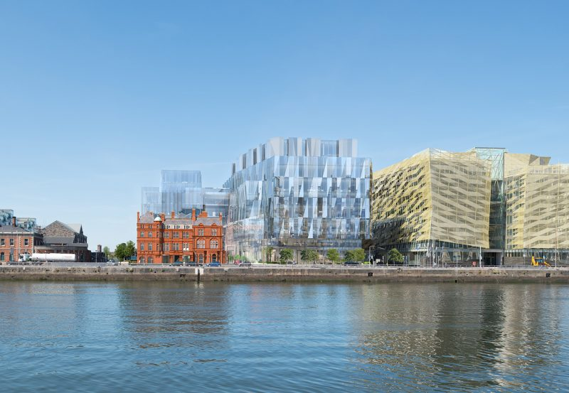 Spencer Dock Site 3D Rendering